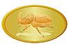 Vector clipart: Golden Beetle