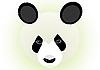 Векторный клипарт: Панда