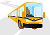 Vector clipart: Passenger bus