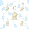 Vector clipart: Pattern of wedding bells