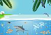 Vector clipart: Seacoast