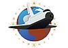 Векторный клипарт: Космический челнок