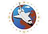 Векторный клипарт: Космический корабль