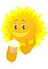 Sun and ice cream