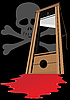 Vector clipart: The death penalty