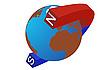 Векторный клипарт: Полюсов Земли