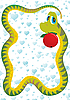 Vector clipart: serpent tempter