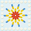 Vector clipart: Pills and tablets