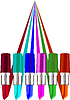 Vector clipart: Trace of lipstick