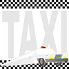 Векторный клипарт: Такси Лимузин