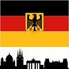 Векторный клипарт: Германия