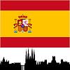 Векторный клипарт: карта Испании