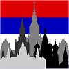 Vector clipart: Russian architecture