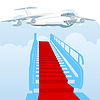 Gangway covered | Stock Vector Graphics