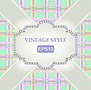Template vintage frame | Stock Vector Graphics