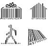 Vector clipart: Barcodes
