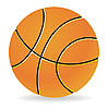 Vector clipart: Basketball