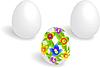 Vector clipart: Three eggs