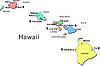 Vector clipart: Hawaii map