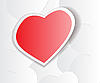 Vector clipart: Love heart