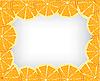 Vector clipart: Orange background