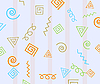 Vector clipart: Fun abstract background