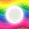 Vector clipart: Rainbow card