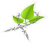 Векторный клипарт: Сохранить природу