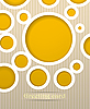 ID 3101666 | Postkarte mit Kreisen | Stock Vektorgrafik | CLIPARTO