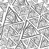 Векторный клипарт: серый треугольник бесшовного фона