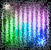 Vector clipart: Neon abstract background