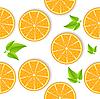 orange nahtlose Hintergrund