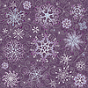 Christmas violet seamless background