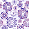 Vector clipart: Seamless flower pattern