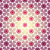 Vector clipart: Seamless lilas geometric pattern