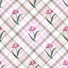 Nahtlose sanfte florale Muster
