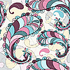 Vektor Cliparts: Splashy seamless pattern