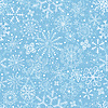 Vector clipart: Blue pastel Christmas pattern