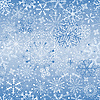 Christmas snowfall (seamless) | Stock Vector Graphics