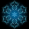 Decorative snowflake | Stock Vector Graphics