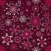 Vector clipart: Christmas purple pattern