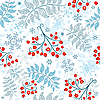 Vector clipart: winter seamless pattern