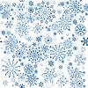 Vector clipart: Seamless winter pattern
