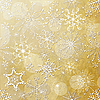Photo 300 DPI: Christmas background of snowflakes