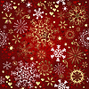 Vector clipart: Christmas red seamless pattern
