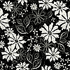 Vector clipart: gentle floral pattern