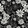 Векторный клипарт: нежный цветочный узор