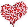 Vektor Cliparts: Große rosa romantische Herz