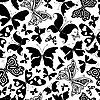 Vektor Cliparts: Nahtlose Weiß-Muster
