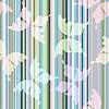 Векторный клипарт: Полосатый пастельный паттерн